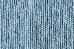 Tricottare fresco del blu Fotografia Stock Libera da Diritti