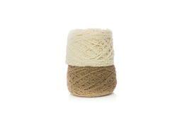 Tricottare lana Immagine Stock