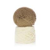 Tricottare lana Immagini Stock Libere da Diritti