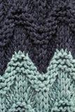 Tricottare struttura del fondo. L'alta risoluzione tricotta il tessuto di lana Fotografia Stock