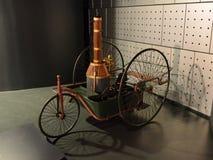 Tricycla пара Энрико Pecori на Museo Nazionale dell'Automobile Стоковая Фотография