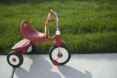 Tricycle de gosses Photos stock