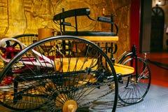 Tricycle de moteur de vintage Image libre de droits