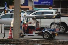 Tricycle de Tuk Tuk Thaïlande Images libres de droits