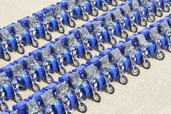 Tricycle for disabled people Royalty Free Stock Image