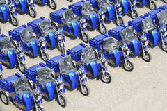 Tricycle for disabled people Royalty Free Stock Photos