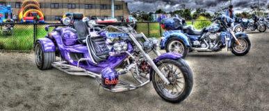 Tricycle fait sur commande Images libres de droits