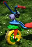 Tricycle in the garden Stock Photos