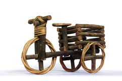 Tricycle handicraft Royalty Free Stock Photos