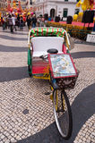 Tricycle in Macau Royalty Free Stock Images
