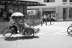Tricycle in Penang Royalty Free Stock Photo