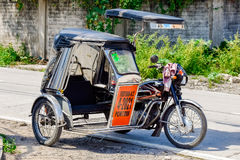 Tricycle philippin Photographie stock