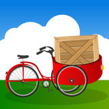 Tricycle transport Stock Photos