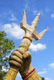 Trident av Poseidon Royaltyfria Bilder
