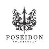 Trident Poseidon Immagini Stock