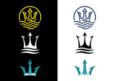 Trident royalty free stock images