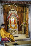 Tridev Mandir temple in VARANASI. This temple is near Tulsi Manas Temple and it is dedicated to Salasar. This temple is very beautiful large and spacious. Its in stock photos