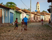 Trididad古巴加勒比 库存图片