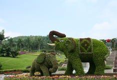 Tridimensional Gartenbau Lizenzfreies Stockbild
