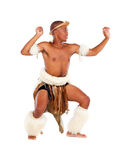 Triditional tribal dancer Royalty Free Stock Photos