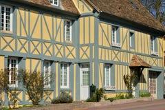 Trie Chateau, França - 14 de março de 2016: a cidade pitoresca imagem de stock royalty free