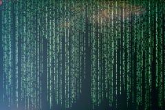 Trieb der Matrix Background vektor abbildung