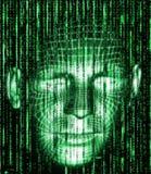 Trieb der Matrix Background lizenzfreie stockbilder