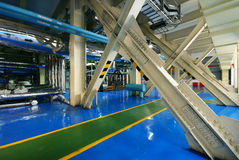 Triebwerkanlage Stockbild