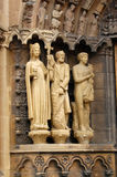 trier скульптур dom собора Стоковое Фото
