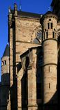 Trier Cathedral. View of St. Peter's Cathedral Dom in ancient Roman city of Trier in Germany Royalty Free Stock Image