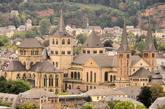 Trier cathedral. Trier in Rhineland-Palatinate, the cathedral Royalty Free Stock Photo