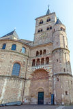 Trier Cathedral. Against a blue sky on a sunny day Stock Photography