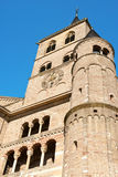 Trier Cathedral, Germany. Detail of Trier Cathedral or Dom St. Peter, the oldest church in Germany. In 326 AD, Constantine, the first Christian emperor, built a Royalty Free Stock Photo