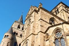 Trier Cathedral, Germany. Trier Cathedral or Cathedral of Saint Peter (Trierer Dom in German), the oldest church in Germany. In 326 AD, Constantine, the first Royalty Free Stock Photos