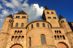 Trier - cathedral of saint peter Stock Photos