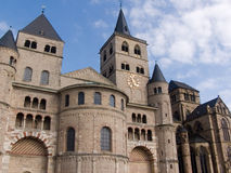 Trier, cattedrale Immagine Stock