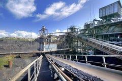 Trier de charbon Image libre de droits