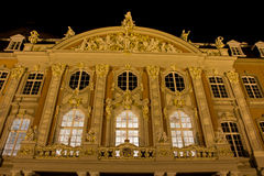 Trier de Palais gemany en la noche Fotografía de archivo libre de regalías
