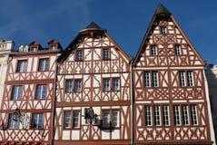 Trier-Häuser Stockbild