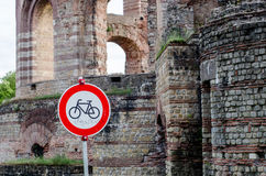Trier Imperial Roman Baths, Kaiserthermen, Germany Royalty Free Stock Images