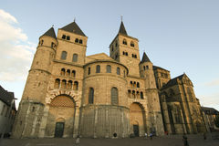 Trier-Kathedrale stockbild