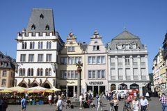 Trier Market Square Royalty Free Stock Photography