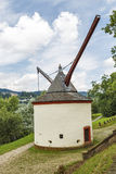 Trier medieval crane germany Royalty Free Stock Photography