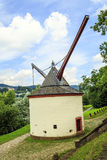 Trier medieval crane germany Stock Photography