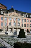 Trier Palace. The Electoral Palace is considered one of the most beautiful rococo palaces in the world. It is located next to the Basilika in Trier, Germany Royalty Free Stock Images