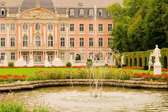 Trier palace. Trier, the palace and water fountains Royalty Free Stock Images
