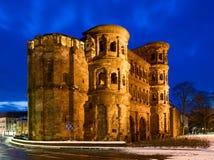 Trier: Porta Nigra Stock Images