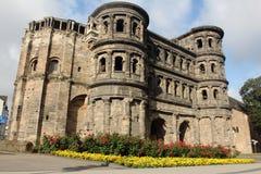 Trier - porta Nigra Stockfotos