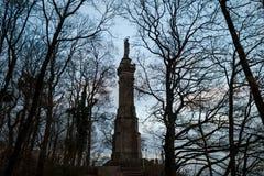 Trieren marien punkt för kolonnstadssikten Arkivbilder