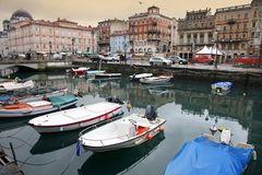 Triest, Italien Stockbild